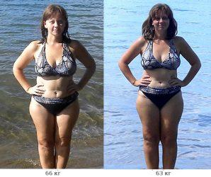 Похудение на 3 кг