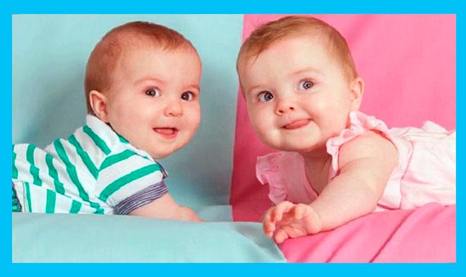 два ребенка девочка и мальчик