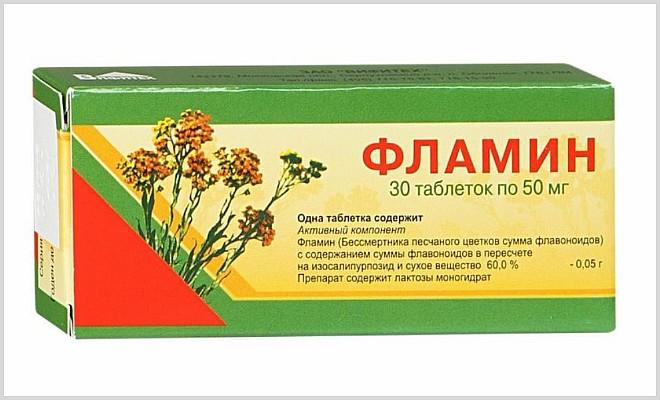 Список эффективных желчегонных таблеток