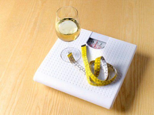 Употребление алкоголя на диете