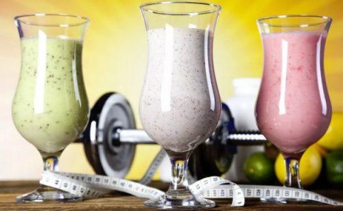 Протеиновые коктейли для снижения веса
