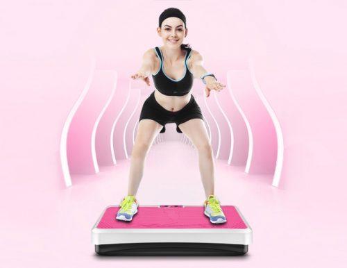 Применение виброплатформы для похудения