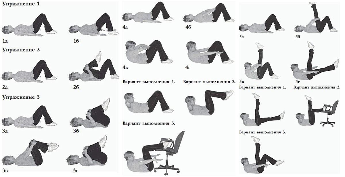Первый комплекс упражнений