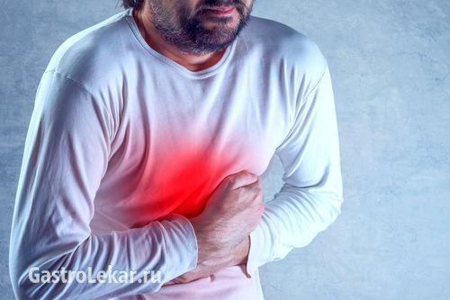 Эритематозный гастрит у человека