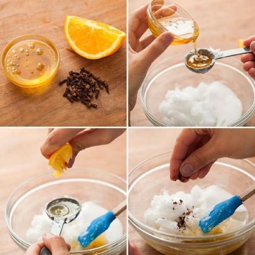 Скраб с морской солью