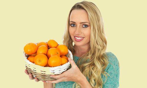Похудение с помощью мандаринов