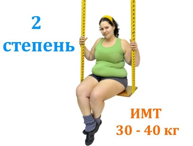 Проблема ожирения второй степени