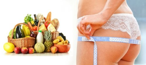 Питание для похудения нижней части