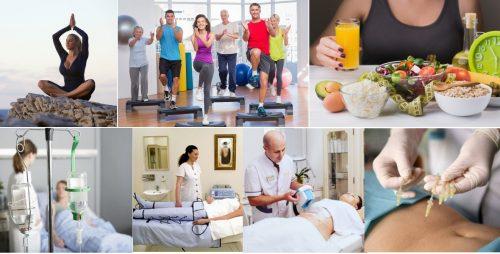 Комплексные процедуры для похудения