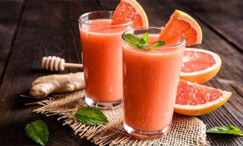 Грейпфрутовые смузи