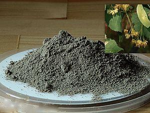 Черная глина с липовым цветом