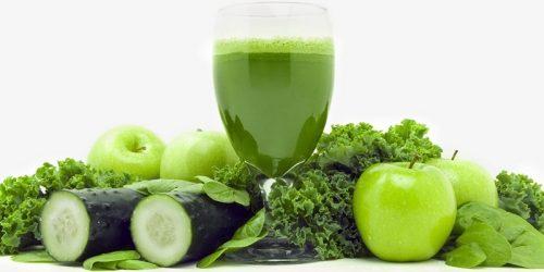 Зеленые коктейли для снижения веса