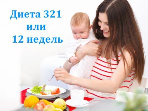 Диета 321 после родов