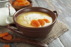 Абрикосовый суп