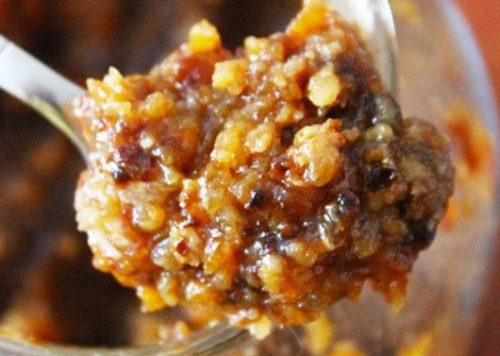 Сухофрукты с орехами и медом