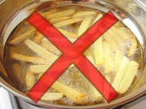 Жареная картошка в масле