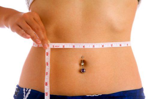 Измерение параметров тела при похудении