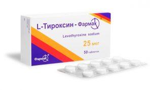 L–Тироксин от Фармак