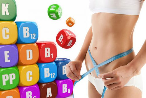 Похудение с помощью витаминов