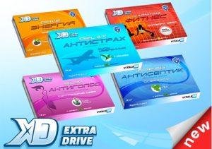 Жевательные резинки Extra drive