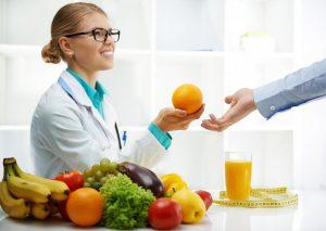Консультация диетологов