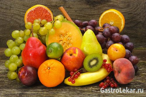Яблоки, хурма и другие фрукты при язве желудка и 12-перстной кишки