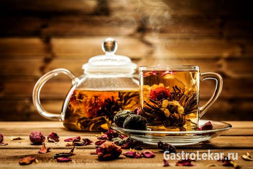 Чай при лечении гастрита