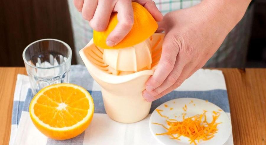 Приготовление апельсинового сока