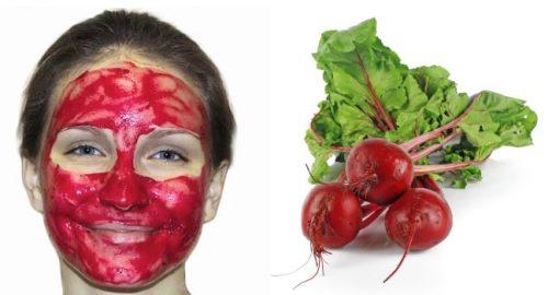 Свекольная маска для кожи лица