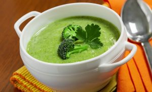 Суп–пюре с брокколи