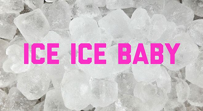 кубики льда и слова из песни ice ice baby