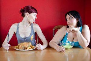 Нет ограничений в еде
