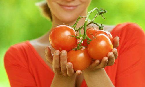 Потеря веса на помидорах