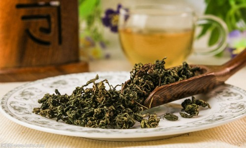 Употребление чая улун