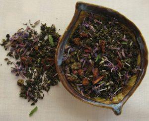 Сбор с иван-чаем