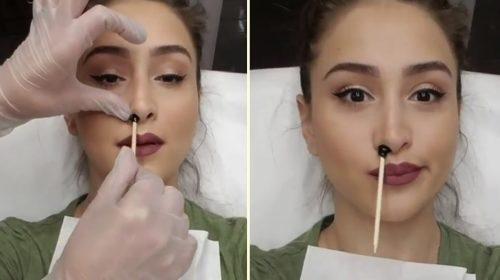 Как избавиться от нежелательных волос в носу?