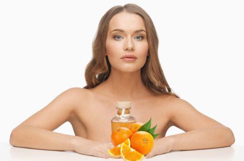 Способы применения масла апельсина для лица