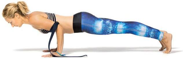 Упражнение с ремнем