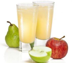 Грушево-яблочный сок