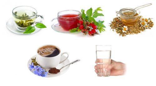 Разрешенные напитки на диете 7 депестков