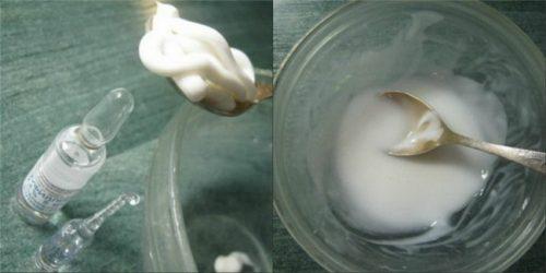 Приготовление крема с Аминофиллином