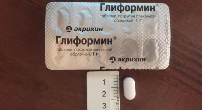 Таблетки Глиформина