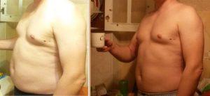 Похудение на 8 кг мужчина