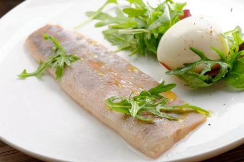 Рыба на пару и яйца