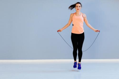 Прыжки на скакалке для похудения