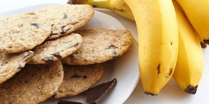 банановое печенье