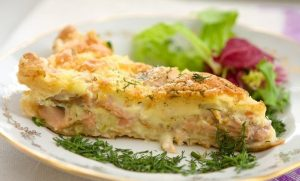 Рыбно–картофельная запеканка