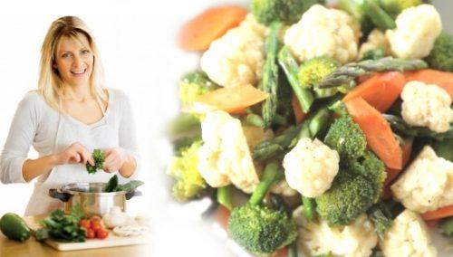 Похудение на вареных блюдах