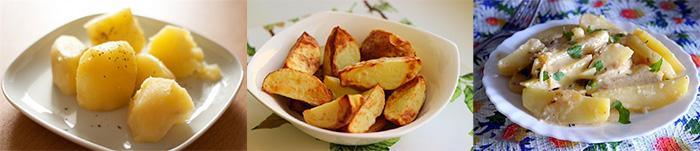 Способы приготовления картофеля