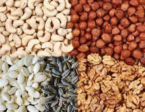 Запрещенные орехи и семечки